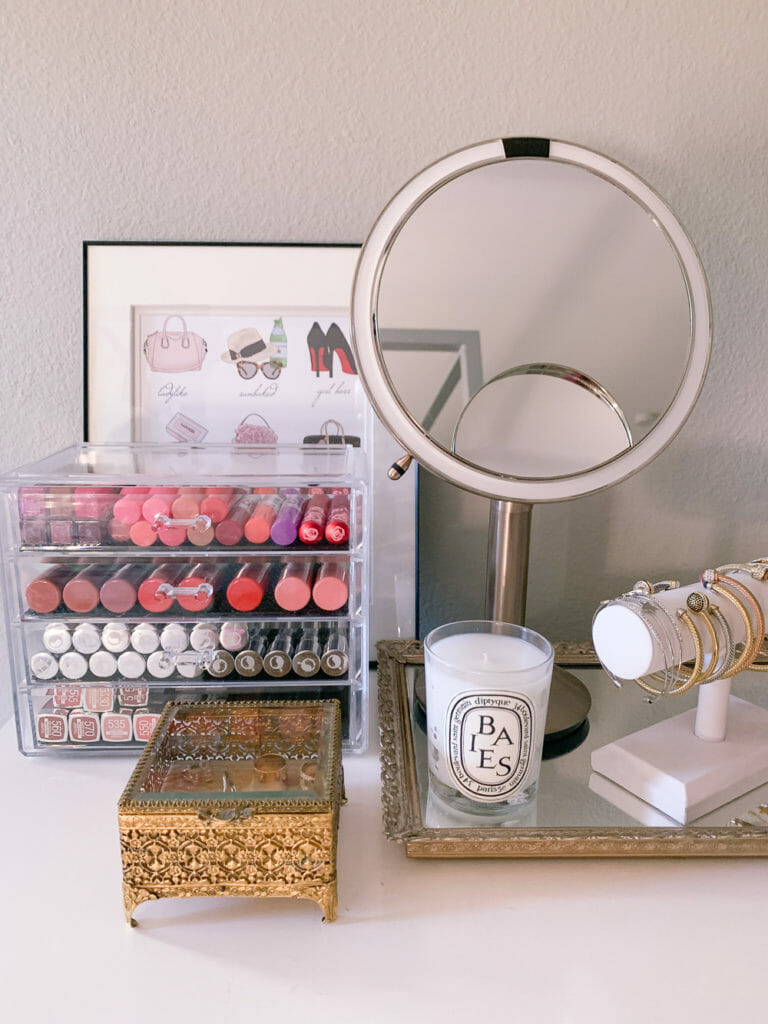 The Best Makeup Storage Ideas For Small Spaces