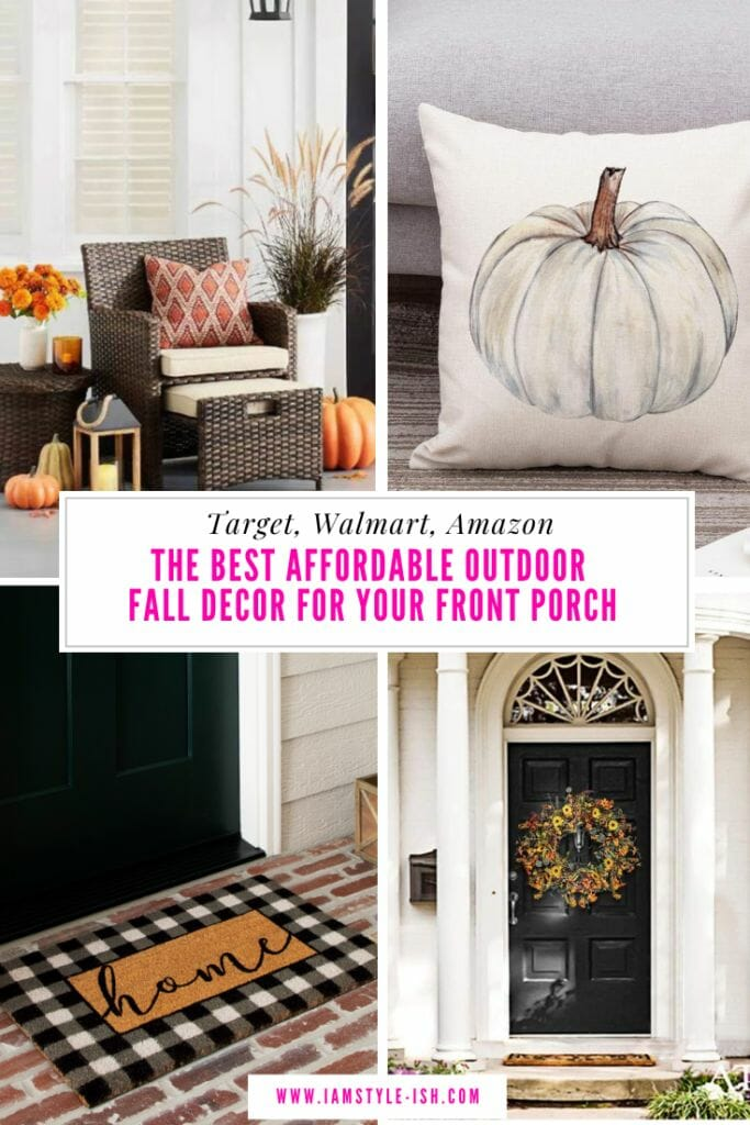 Where To Buy Affordable Outdoor Fall Decor For Your Front Porch